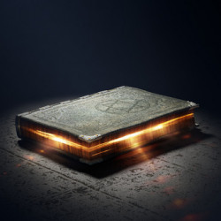 33774205 - magic book with super powers - 3d artwork